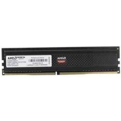 Модуль оперативной памяти ПК AMD R744G2133U1S-UO 4GB DDR4 (R744G2133U1S-UO)Модули оперативной памяти ПК AMD <br>Память DDR4 4Gb 2133MHz AMD R744G2133U1S-UO OEM PC4-17000 CL15 DIMM 288-pin 1.2В<br>