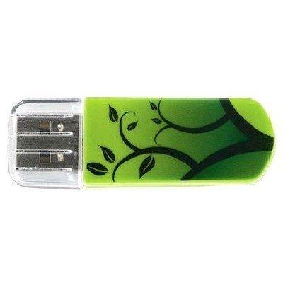 USB накопитель Verbatim 8Gb Store n Go Mini Elements Earth зеленый/рисунок (98160)USB накопители Verbatim<br>Флеш Диск Verbatim 8Gb Store n Go Mini Elements Earth 98160 USB2.0 зеленый/рисунок<br>