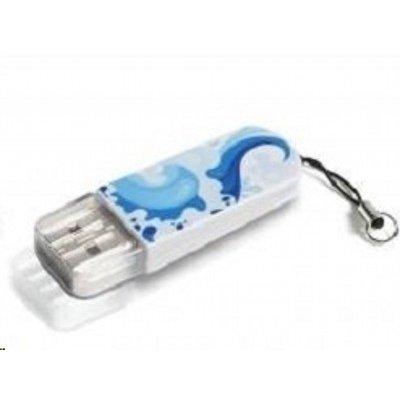 USB накопитель Verbatim 8Gb Store n Go Mini Elements Water (98159)