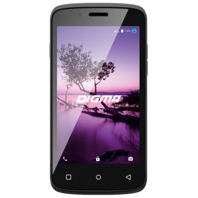 Смартфон Digma LINX A420 3G черный (LS4019PG black) смартфон digma linx c500 3g черный 5 4 гб wi fi gps lt5001pg