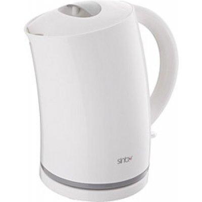 Электрический чайник Sinbo SK 7305 белый (SK 7305)Электрические чайники Sinbo<br>Чайник электрический Sinbo SK 7305 1.8л. 2000Вт белый (корпус: пластик)<br>