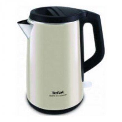 Электрический чайник Tefal KO371 I30 Safe to touch бежевый/черный (7211001804) tefal k 0910204 talent