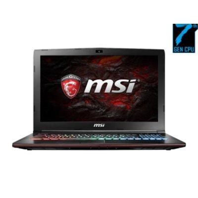 Ноутбук MSI GE62MVR 7RG-012RU Apache Pro (9S7-16JC12-012) (9S7-16JC12-012)Ноутбуки MSI<br>MSI GE62MVR 7RG-012RU Apache Pro i7-7700HQ 8Gb 1Tb nV GTX1070 8Gb 15,6 FHD BT Cam 4730мАч Win10 Черный<br>