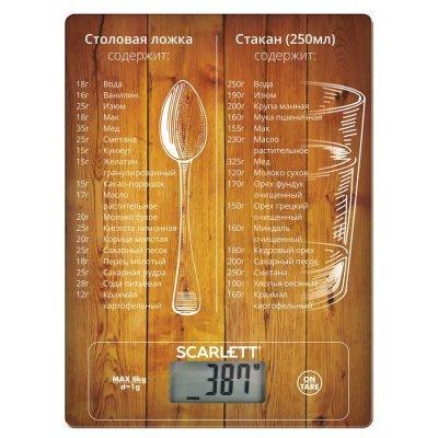 Весы кухонные Scarlett SC-KS57P19 рисунок (SC-KS57P19), арт: 260349 -  Весы кухонные Scarlett