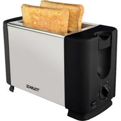 Тостер Scarlett SC-TM11012 серебристый/черный (SC - TM11012) масляный радиатор scarlett sc oh67b02 7
