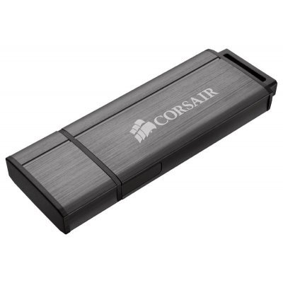 USB накопитель Corsair 64Gb Voyager GS CMFVYGS3C-64GB серый (CMFVYGS3C-64GB)USB накопители Corsair<br>Флеш Диск Corsair 64Gb Voyager GS CMFVYGS3C-64GB USB3.0 серый<br>