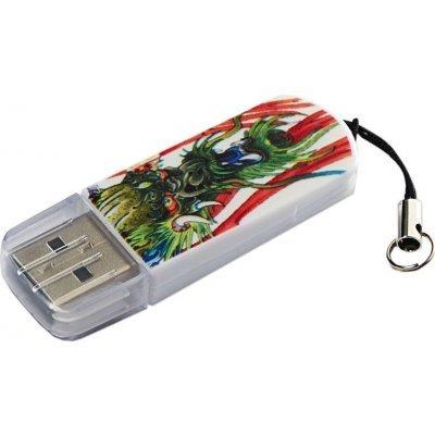 USB накопитель Verbatim 8Gb Store n Go Mini Tattoo Dragon белый/узор (49884), арт: 260367 -  USB накопители Verbatim