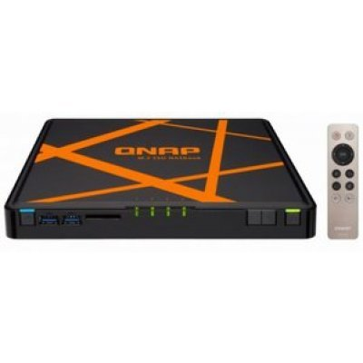 Рэковое сетевое хранилище (Rack NAS) Qnap TBS-453A-8G-480GB (TBS-453A-8G-480GB) сетевой накопитель nas netgear rn42400 100nes rn42400 100nes