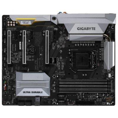 Материнская плата ПК Gigabyte GA-Z270X-UD5 (GA-Z270X-UD5)Материнские платы ПК Gigabyte<br>материнская плата форм-фактора ATX<br>сокет LGA1151<br>чипсет Intel Z270<br>4 слота DDR4 DIMM, 2133-4000 МГц<br>поддержка SLI/CrossFireX<br>разъемы SATA: 6 Гбит/с - 6<br>