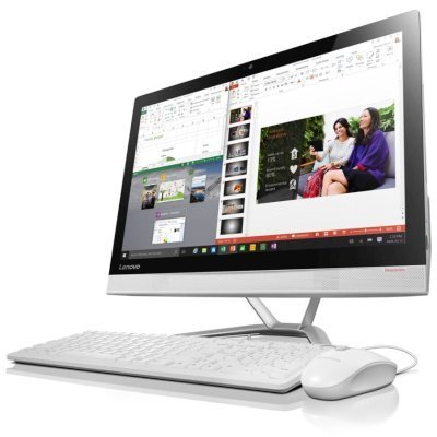 Моноблок Lenovo IdeaCentre 300-23ISU (F0BY00M9RK) (F0BY00M9RK)Моноблоки Lenovo<br>300-23ISU, 23 (1920x1080) IPS, i5-6200U(2.3GHz), 8GB, 1TB (7200rpm), Nvidia GeForce  920A 2GB, DVDRW, KB+Mouse (USB), Win 10, White<br>