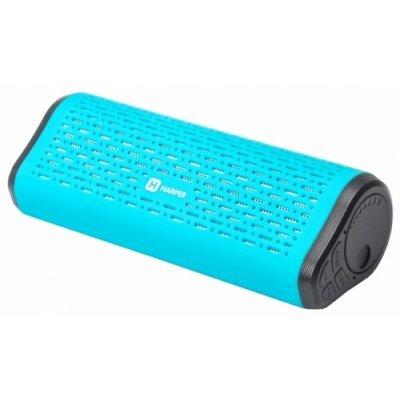 Портативная акустика HARPER PS-042 синий (H00001066)Портативная акустика HARPER<br>Беспроводная BT-Колонка HARPER PS-042 blue (Bluetooth/Micro SD/2000 мАч/до 4 часов/2x3 Вт/микрофон)<br>