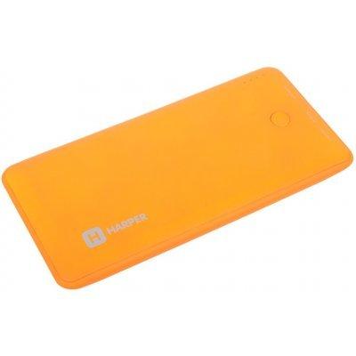 Внешний аккумулятор для портативных устройств HARPER PB-10001 оранжевый (H00000959)Внешние аккумуляторы для портативных устройств HARPER<br>Внешний аккумулятор HARPER PB-10001 Orange<br>