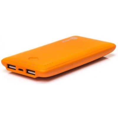 Внешний аккумулятор для портативных устройств HARPER PB-6001 оранжевый (H00000230)Внешние аккумуляторы для портативных устройств HARPER<br>Внешний аккумулятор HARPER PB-6001 orange (6000mAh/Soft-Touch/Li-Pol;USB1: 5V/1000мA,USB2: 5V/2100мA<br>