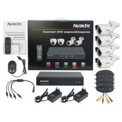 Комплект видеонаблюдения Falcon Eye FE-0104AHD-KIT (FE-0104AHD-KIT Защита) системы видеонаблюдения falcon eye комплект видеонаблюдения falcon eye nr 2104kit