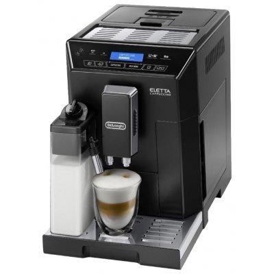 Кофемашина Delonghi ECAM 44.664 B (132215237)Кофемашины Delonghi<br>кофеварка эспрессо<br>автоматическая<br>для зернового и молотого кофе<br>кофемолка с регулировкой степени помола<br>контроль крепости кофе<br>настройка температуры<br>регулировка порции воды<br>самоочистка от накипи<br>приготовление капучино<br>настройка времени старта<br>отключение при неиспользовании<br>одновременная раздача на 2 ...<br>