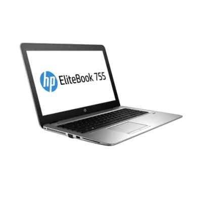 Ноутбук HP Elitebook 755 G4 (Z2W11EA) (Z2W11EA)Ноутбуки HP<br>HP Elitebook 755 G4 UMA A12-9800B 755 / 15.6 FHD AG SVA / 8GB 1D DDR4 1866 / 256GB Turbo G2 TLC / W10p64 / 3yw / kbd DP Backlit / Intel AC 2x2 nvP +BT 4.2 / FPR / No NFC<br>