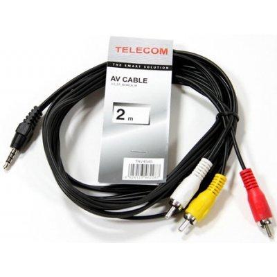 Кабель аудио 3,5 мм Telecom TAV4545-2M (TAV4545-2M) кабель аудио 3 5 мм telecom tav7183 2m tav7183 2m
