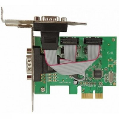 Контроллер COM Orient XWT-PE2SLP (29839)Контроллеры COM Orient<br>Контроллер Orient XWT-PE2SLP (PCI-E to COM 2-port (WCH CH382) Low Profile) OEM<br>