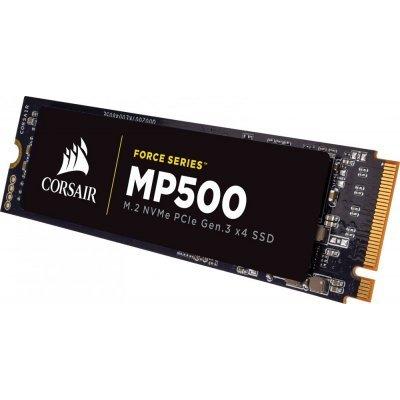 Накопитель SSD Corsair CSSD-F480GBMP500 480GB (CSSD-F480GBMP500)Накопители SSD Corsair<br>Corsair 480GB m.2 SSD Force Series MP500<br>