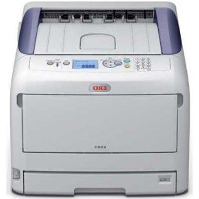 Цветной лазерный принтер Oki C823N (C823N/46471514)Цветные лазерные принтеры Oki<br>Принтер OKI C823N цветной светодиодный; А4-23/23 ppm, A3-13/13 ppm,1200x600dpi, USB 2.0, сеть.<br>