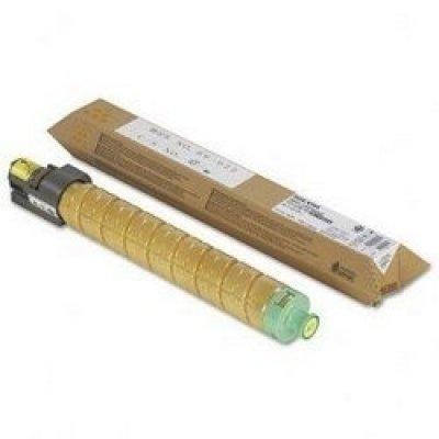 Тонер-картридж для лазерных аппаратов Ricoh Aficio MP C3002/C3502 желтый, type MPC3502E (18K) (842017) тонер картридж для лазерных аппаратов ricoh aficio mp c2800 c3300 черный type mpc3300e 20k 842043