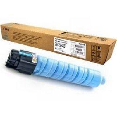 Тонер-картридж для лазерных аппаратов Ricoh Aficio MP C3002/C3502 голубой, type MPC3502E (18K) (842019) тонер картридж для лазерных аппаратов ricoh aficio mp c2800 c3300 черный type mpc3300e 20k 842043
