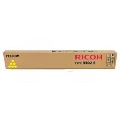 Тонер-картридж для лазерных аппаратов Ricoh Aficio MP C4502/C5502 желтый, type MPC5502E (22.5K) (842021)Тонер-картриджи для лазерных аппаратов Ricoh<br>Тонер Ricoh Aficio MP C4502/C5502 желтый, type MPC5502E (22.5K)<br>