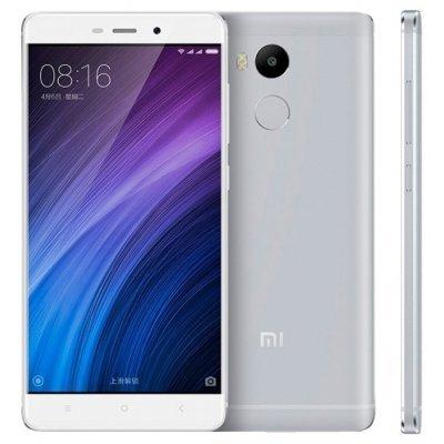 Смартфон Xiaomi Redmi 4 Pro серебристый 32GB (Redmi4S32GB)Смартфоны Xiaomi<br>смартфон, Android 6.0<br>поддержка двух SIM-карт<br>экран 5, разрешение 1920x1080<br>камера 13 МП, автофокус, F/2.2<br>память 32 Гб, слот для карты памяти<br>3G, 4G LTE, LTE-A, Wi-Fi, Bluetooth, GPS, ГЛОНАСС<br>объем оперативной памяти 3 Гб<br>аккумулятор 4100 мА/ч<br>вес 156 г, ШxВxТ 69.60x141.30x8.90 мм<br>
