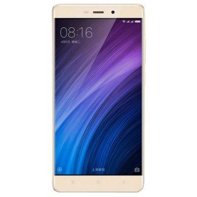 Смартфон Xiaomi Redmi 4 16GB Золотистый (6954176828675)Смартфоны Xiaomi<br>смартфон, Android 6.0<br>поддержка двух SIM-карт<br>экран 5, разрешение 1280x720<br>камера 13 МП, автофокус, F/2.2<br>память 16 Гб, слот для карты памяти<br>3G, 4G LTE, LTE-A, Wi-Fi, Bluetooth, GPS, ГЛОНАСС<br>объем оперативной памяти 2 Гб<br>аккумулятор 4100 мА/ч<br>вес 156 г, ШxВxТ 69.60x141.30x8.90 мм<br>