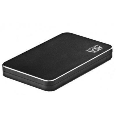 Корпус для жесткого диска Agestar 31UB2A18 черный (31UB2A18)Корпуса для жестких дисков Agestar<br>Внешний корпус для HDD AgeStar 31UB2A18 SATA алюминий черный 2.5<br>
