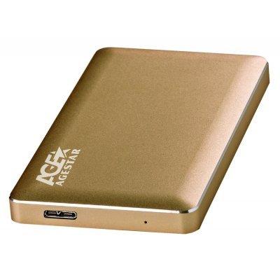 Корпус для жесткого диска Agestar 31UB2A16 золотистый (31UB2A16)