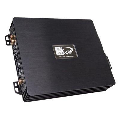 Усилитель автомобильный Kicx QS 4.95M (QS 4.95M BLACK EDITION)Усилители автомобильные Kicx<br>Усилитель автомобильный Kicx QS 4.95M четырехканальный<br>