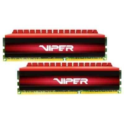 Модуль оперативной памяти ПК Patriot PV416G240C5K (PV416G240C5K)Модули оперативной памяти ПК Patriot<br>Память DDR4 16Gb 2x8GB (pc-19200) 2400MHz Patriot Viper4 CL15 Red PV416G240C5K<br>