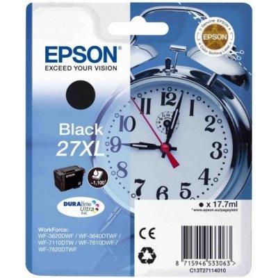Картридж для струйных аппаратов Epson C13T27114020 черный для WF7110/7610/7620 (1100стр.) (C13T27114020) procolor continuous ink supply system ciss europe area 27 t2701 for epson wf 7110 wf7110 wf 7110 7110dtw wf 7110dtw wf7110dtw