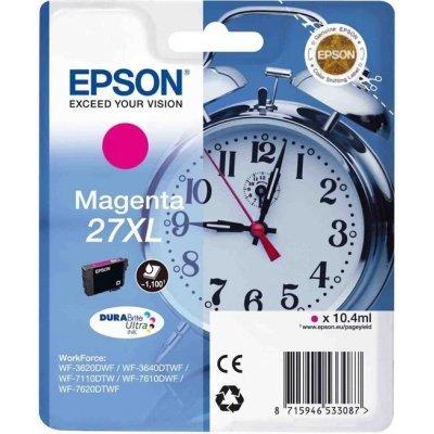 Картридж для струйных аппаратов Epson C13T27134020 пурпурный для WF7110/7610/7620 (1100стр.) (C13T27134020)Картриджи для струйных аппаратов Epson<br>Картридж струйный Epson C13T27134020 пурпурный для Epson WF7110/7610/7620 (1100стр.)<br>