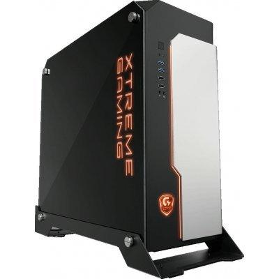 Корпус системного блока Gigabyte XC700W черный без БП (9BXC700W-00-10)