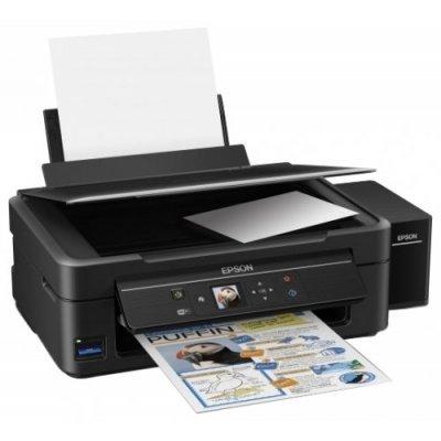 Цветной струйный МФУ Epson L486 (C11CF45403) струйный принтер epson l132