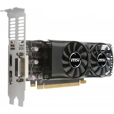 все цены на  Видеокарта ПК MSI PCI-E GTX 1050 2GT LP nVidia GeForce GTX 1050 2048Mb 128bit GDDR5 1354/7008 DVIx1/HDMIx1/DPx1/HDCP Ret (GTX 1050 2GT LP)  онлайн