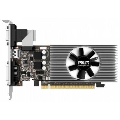 Видеокарта ПК Palit PCI-E PA-GT730K-2GD5H nVidia GeForce GT 730 2048Mb 64bit DDR5 902/2500 DVIx1/HDMIx1/CRTx1/HDCP oem low profile (NE5T7300HD46-2081F BULK)Видеокарты ПК Palit<br>Видеокарта Palit PCI-E PA-GT730K-2GD5H nVidia GeForce GT 730 2048Mb 64bit DDR5 902/2500 DVIx1/HDMIx1/CRTx1/HDCP oem low profile<br>