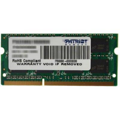 Модуль оперативной памяти ноутбука Patriot PSD32G1600L2S (PSD32G1600L2S), арт: 261203 -  Модули оперативной памяти ноутбука Patriot