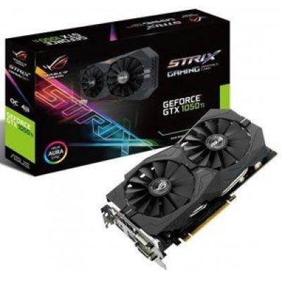 Видеокарта ПК ASUS STRIX-GTX1050TI-4G-GAMING (90YV0A31-M0NA00) asus strix geforce gtx 1050 ti 4g gaming 4gb видеокарта