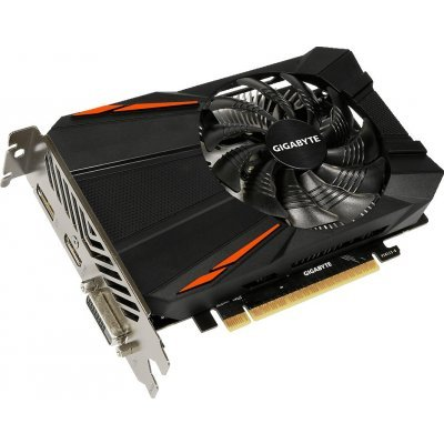 Видеокарта ПК Gigabyte GeForce GTX 1050 D5 2G GV-N1050D5-2GD (GV-N1050D5-2GD) видеокарта 6144mb msi geforce gtx 1060 gaming x 6g pci e 192bit gddr5 dvi hdmi dp hdcp retail