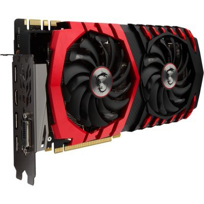 Фото Видеокарта ПК MSI GTX 1080 GAMING X 8G PCI-E16 GTX1080 8GB GDDR5X