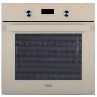 Электрический духовой шкаф Korting OKB 771 CFGB (OKB 771 CFGB)Электрические духовые шкафы Korting<br>электрическая независимая духовка<br>59.7 х 59.6 x 54.7 см<br>утапливаемые переключатели<br>класс энергопотребления: A<br>сенсорный дисплей<br>конвекция<br>гриль<br>