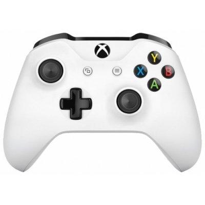 Геймпад для игровой приставки Microsoft Xbox One белый (TF5-00004) кастомизированный беспроводной геймпад для xbox one гладиатор