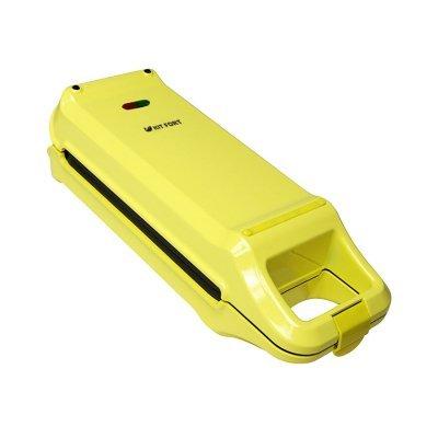 Вафельница Kitfort KT-1611 желтый/черный (KT-1611)Вафельницы Kitfort<br>Вафельница Kitfort KT-1611 640Вт желтый/черный<br>