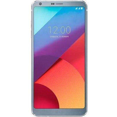 Смартфон LG G6 32Gb ледяная платина (LGH870S.ACISPL) смартфон asus zenfone live zb501kl золотистый 5 32 гб lte wi fi gps 3g 90ak0072 m00140