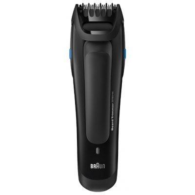 Электрическая бритва Braun BT 5010 черный (BT5010)Электрические бритвы Braun<br>машинка для стрижки бороды и усов<br>питание автономное/от сети<br>стрижка бороды<br>влажная очистка<br>