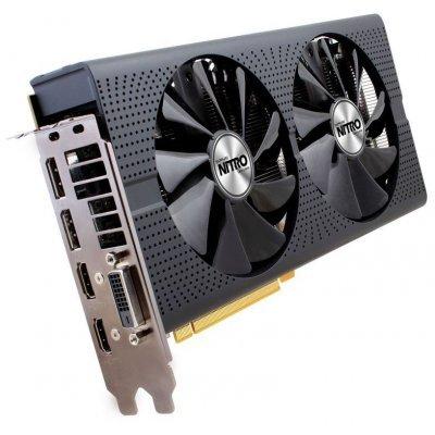 Видеокарта ПК Sapphire 11260-10-20G NITRO+ RX 480 8G AMD Radeon RX 480 8192Mb 256bit GDDR5 1208/8000 DVIx1/HDMIx2/DPx2/HDCP Ret (11260-10-20G)Видеокарты ПК Sapphire<br>Видеокарта Sapphire PCI-E 11260-10-20G NITRO+ RX 480 8G AMD Radeon RX 480 8192Mb 256bit GDDR5 1208/8000 DVIx1/HDMIx2/DPx2/HDCP Ret<br>