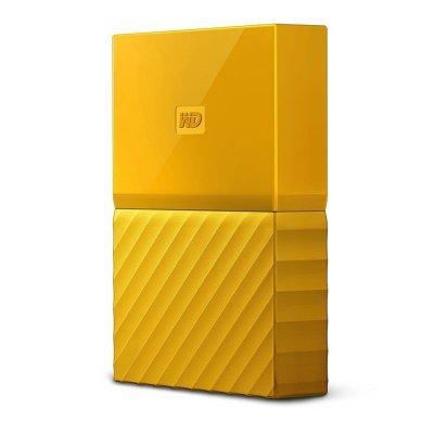 Внешний жесткий диск Western Digital WDBUAX0020BYL-EEUE 2Tb (WDBUAX0020BYL-EEUE)Внешние жесткие диски Western Digital<br>Жесткий диск WD Original USB 3.0 2Tb WDBUAX0020BYL-EEUE My Passport (5400rpm) 2.5 желтый<br>